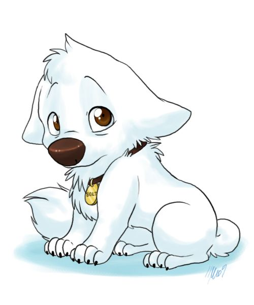 image free download Bolts drawing baby. Puppy bolt disney dogs