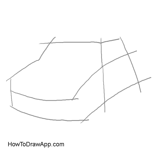 jpg royalty free library How to draw a mini cooper car step by step with pictures and text