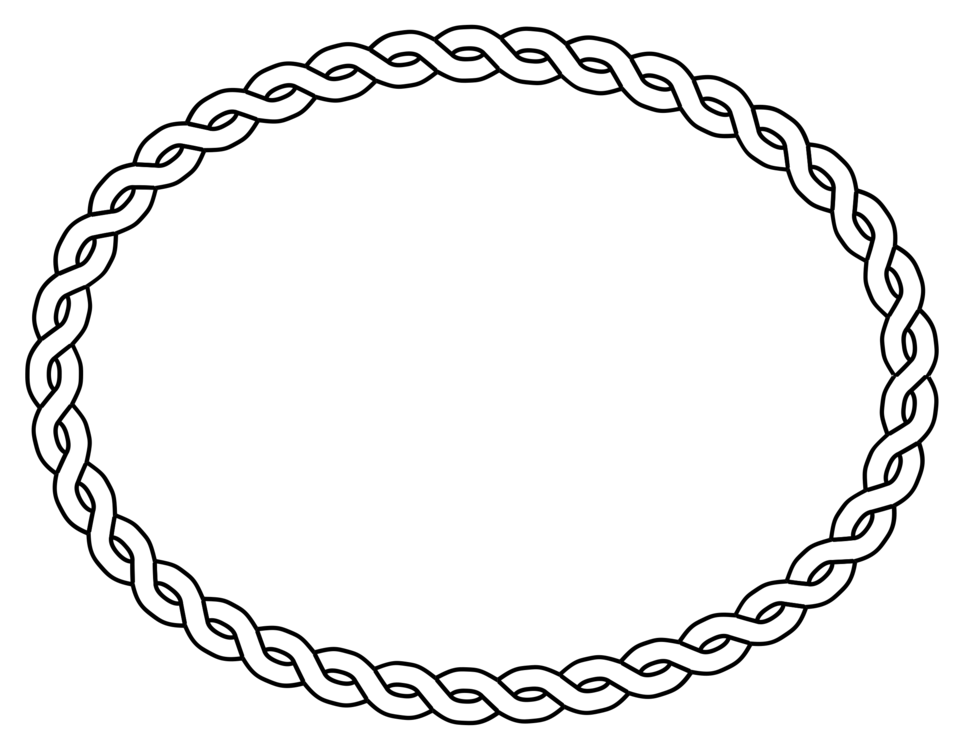 banner stock Borders and frames computer. Drawing rope chain