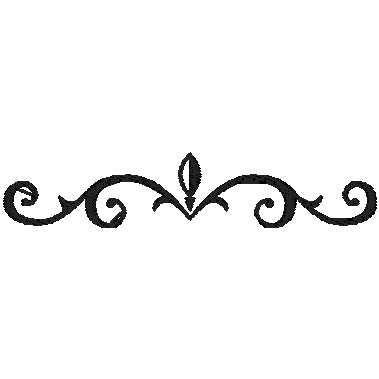 black and white Small celtic border design. Drawing borders classic
