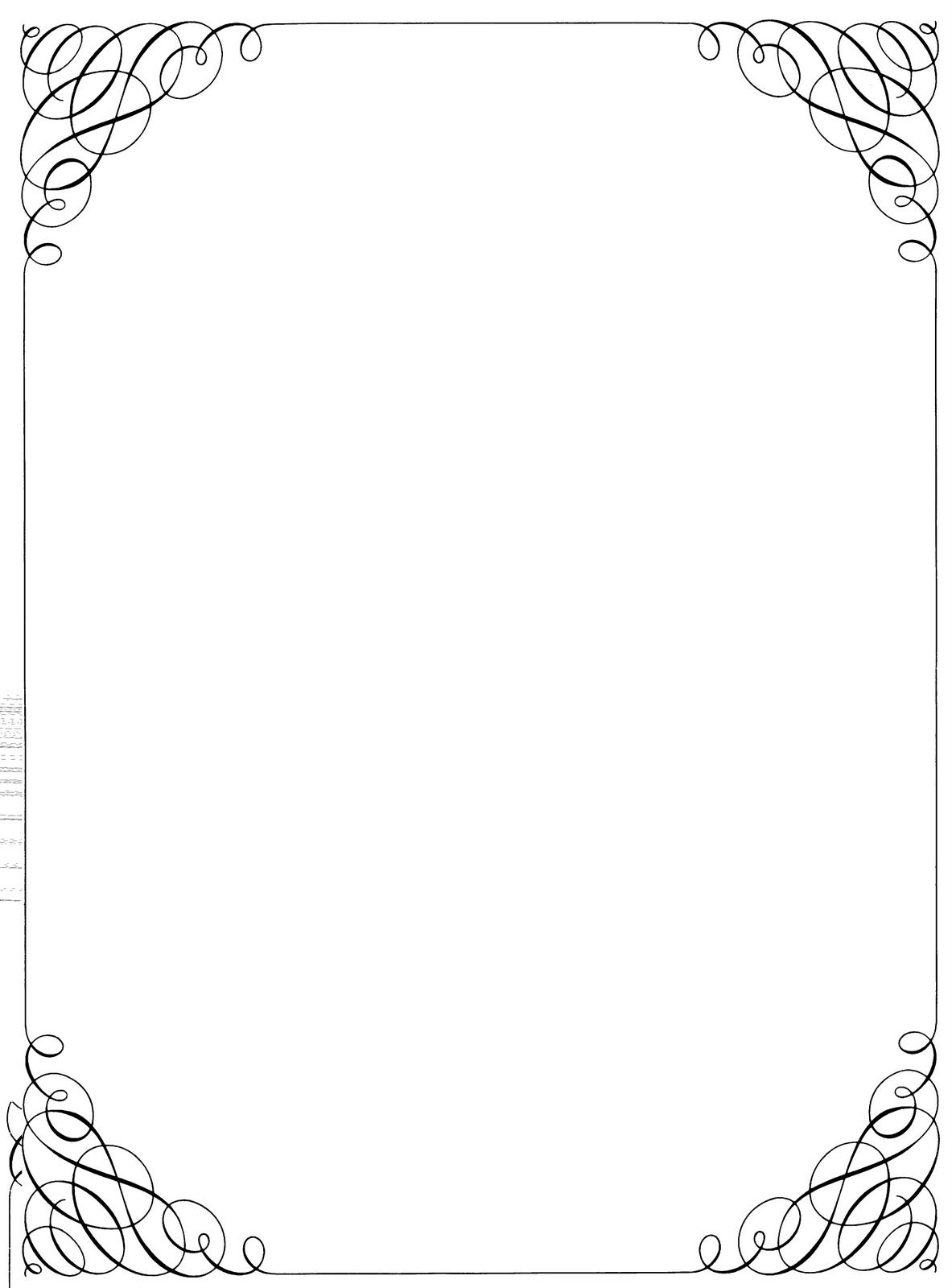 freeuse library Free microsoft and frames. Drawing borders classic