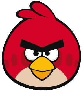 vector black and white download How to draw Angry Birds