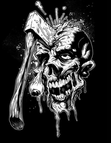 clip art download Cool and axe skulls. Baphomet drawing skull