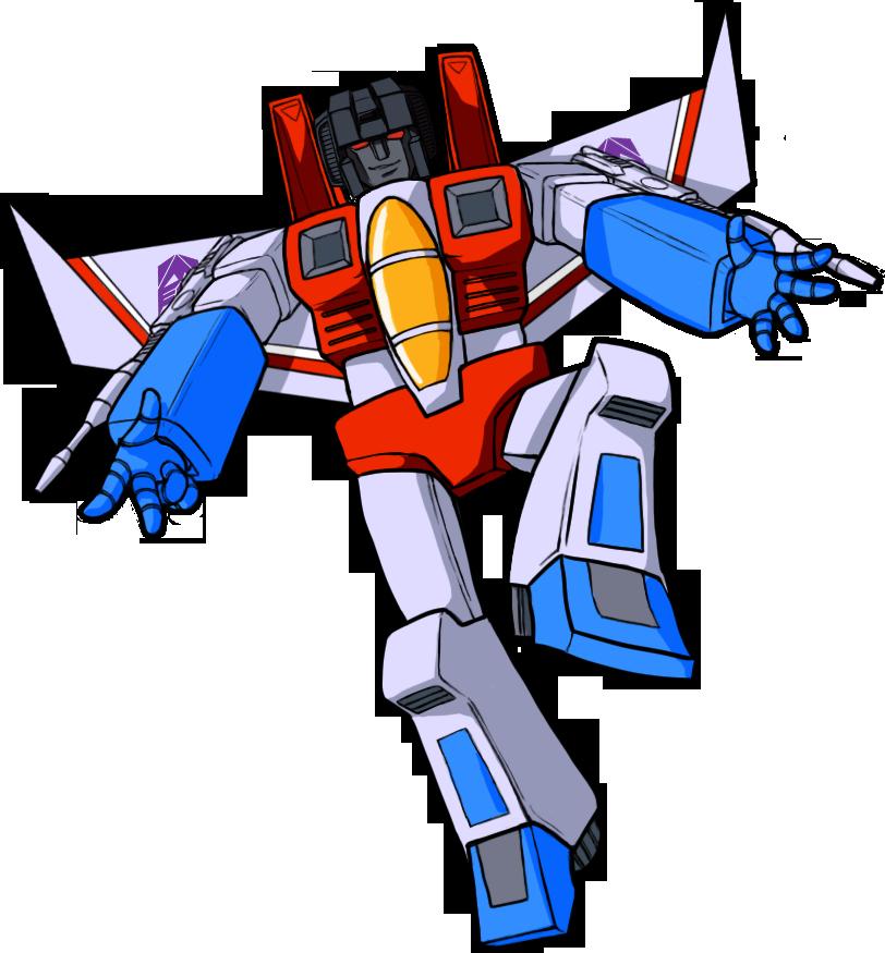 jpg royalty free library Starscream Cliffjumper Transformers Drawing