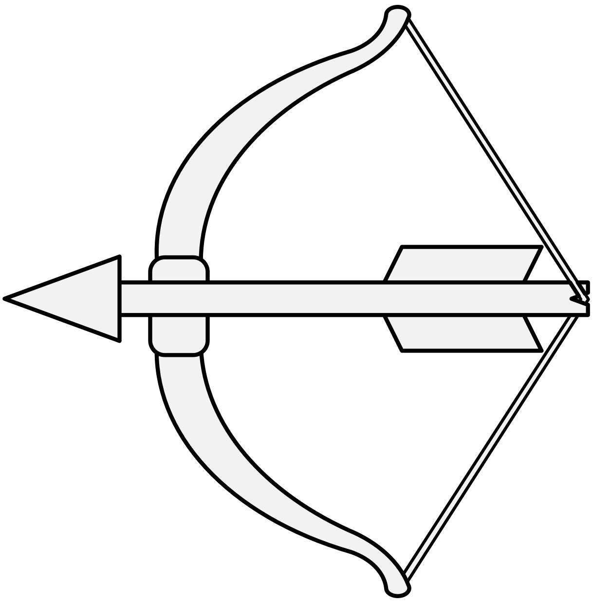 vector transparent Bow and arrow Drawing Bow draw Image
