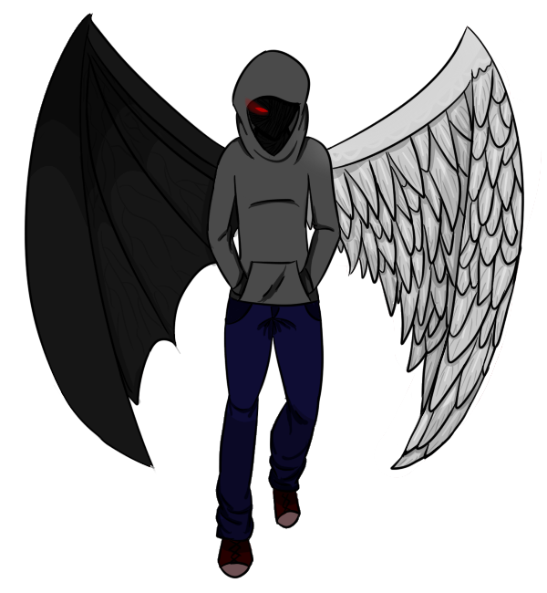 clip art library stock By cheshirechaoswolf on deviantart. Drawing boy fallen angel