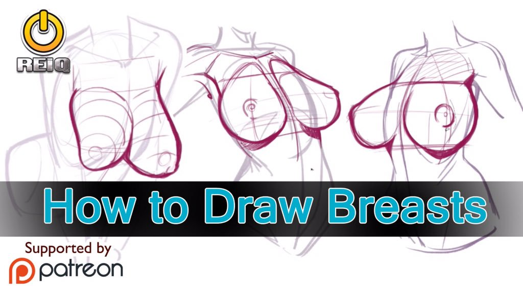 freeuse Reiq animenyc on twitter. Drawing breast tutorial.