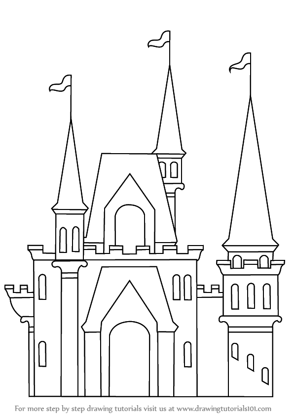 png download Drawing castles. Learn how to draw