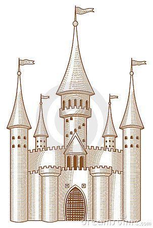 jpg freeuse stock Medieval Castle