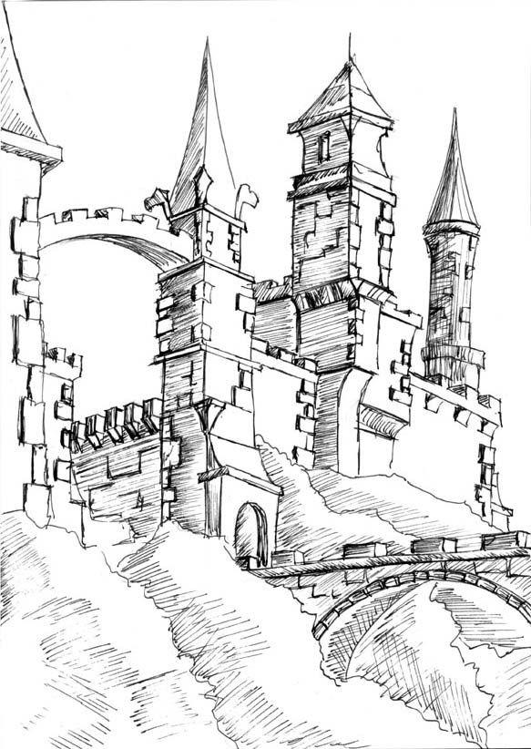 svg download fantasy castles images
