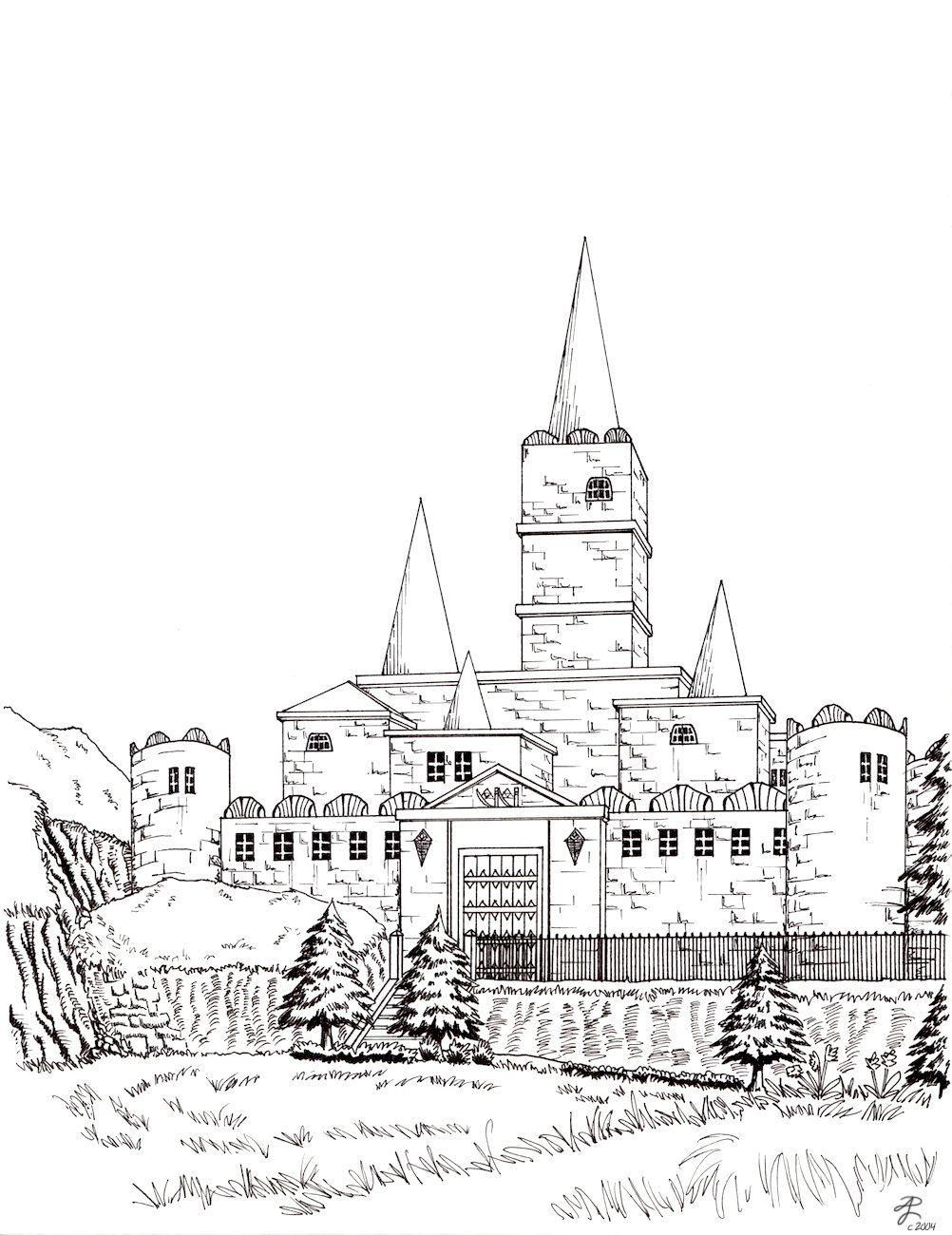 clip art free stock Hyrule Castle