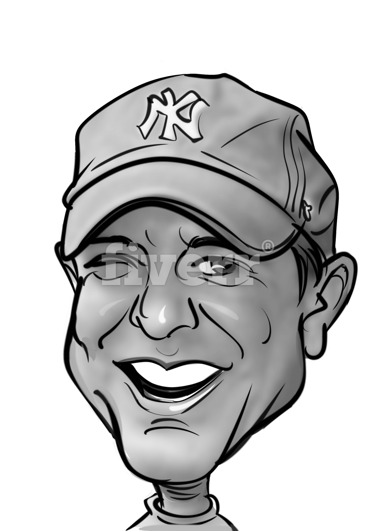 image transparent download I will draw your cartoon caricature