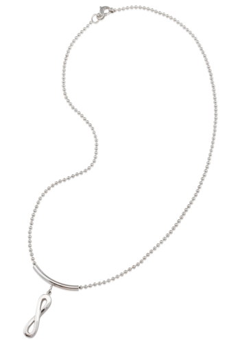 png free library Drawing neck necklace. Infinity macro chain by