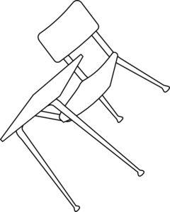 clipart library stock drawing chair broken #93795842
