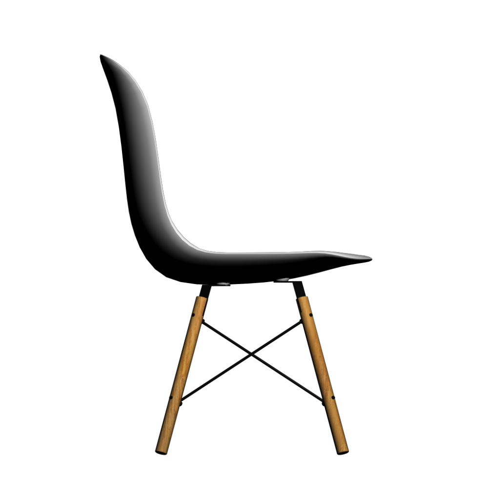 svg free library chair side view