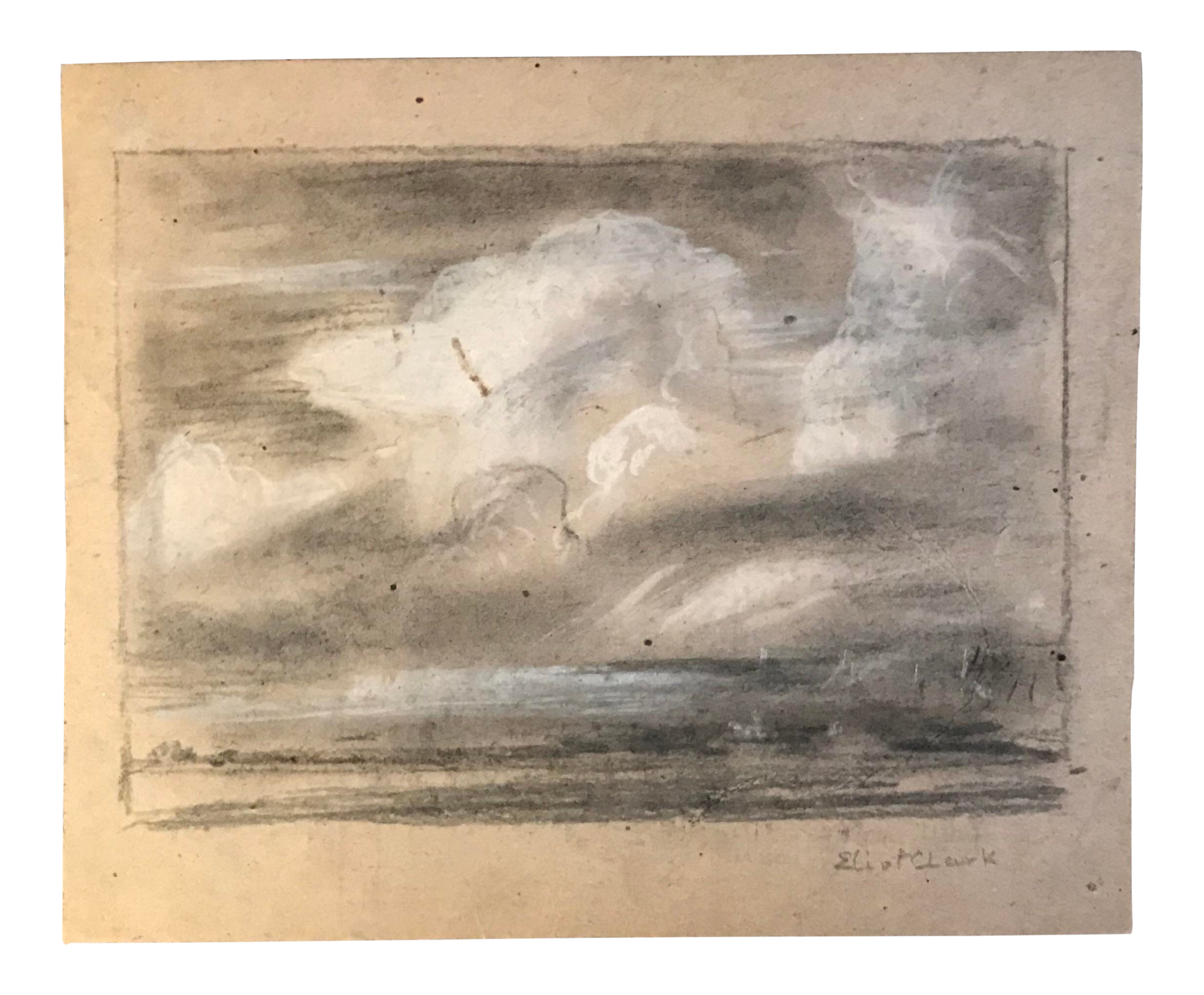 free library drawing chalks landscape #111613754