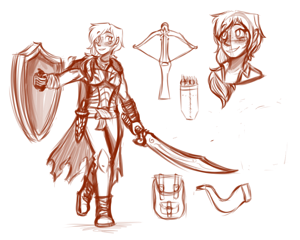 clip freeuse download DnD Character Sketch by Emmryn on DeviantArt