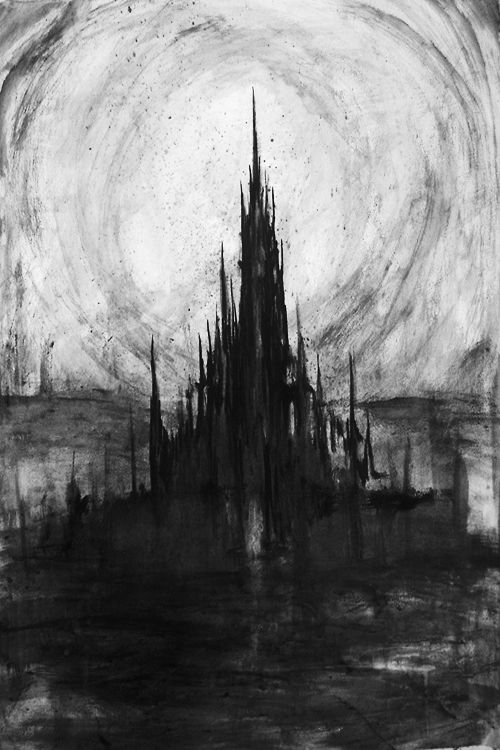 image transparent stock Where ovette sihirists are. Drawing charcoal castle