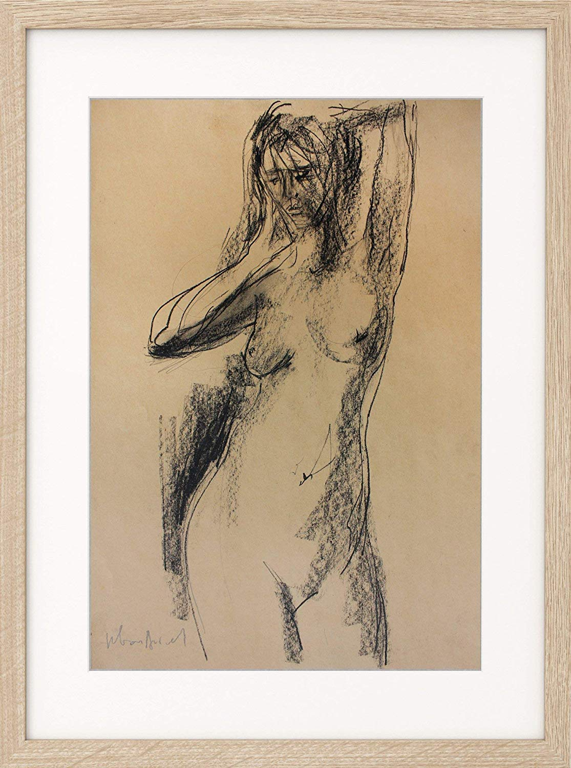 graphic transparent stock Drawing charcoal minimalist. Amazon com sketch nude