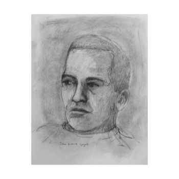 png freeuse library Castonart drawings julien at. Drawing charcoal portrait