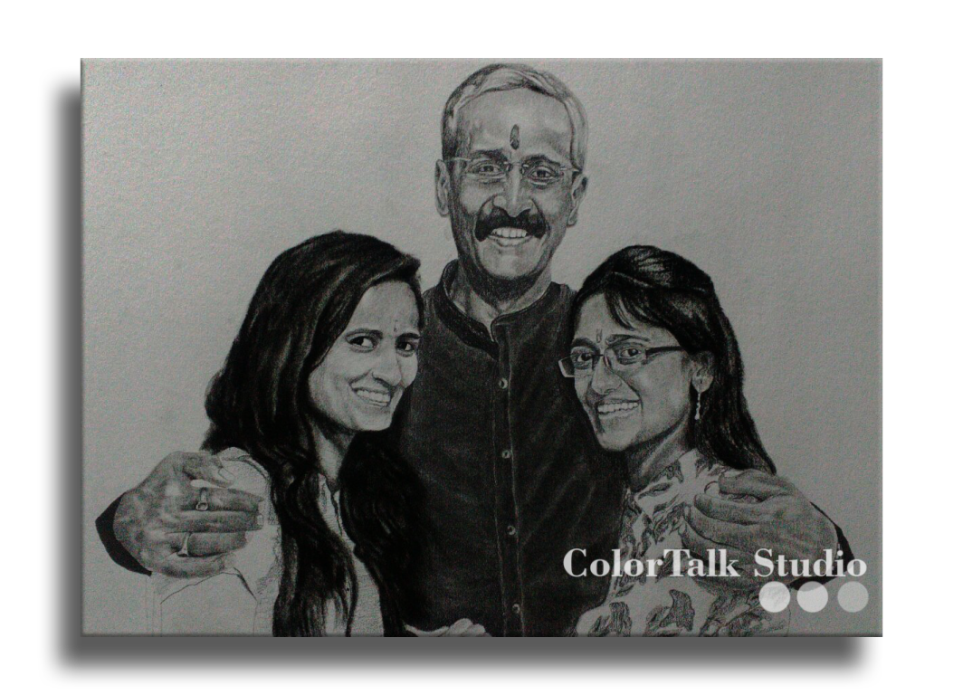 banner royalty free library Drawing charcoal portrait. Custom portraits hand drawn