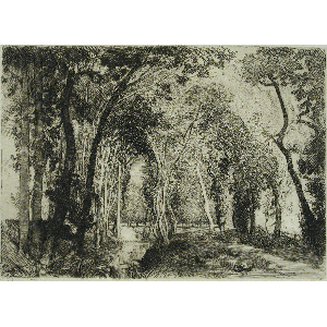 transparent download Auguste lep re sous. Drawing charcoal scenery