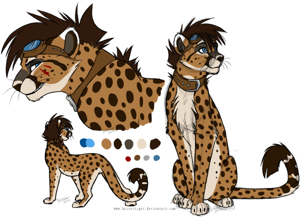 clipart free stock Cheetah closed by kaisertiger. Drawing cheetahs