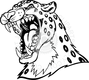 black and white library Collection of free Cheetah drawing head