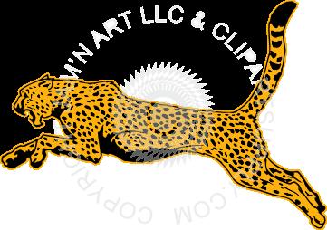 clip free download Running Cheetah Drawing at GetDrawings