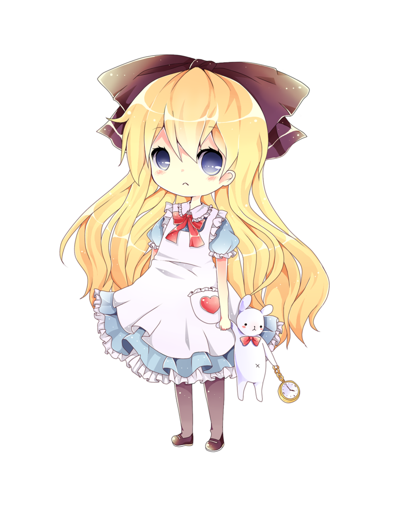 jpg transparent library Alice Chibi by eo