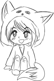 png transparent stock How to draw a cute girl