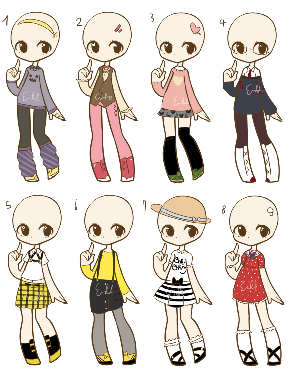 png royalty free download Outfit Adopts
