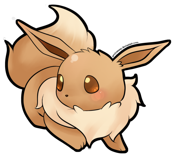 clip art black and white Quick eevee by seviyummy. Jolteon drawing adorable