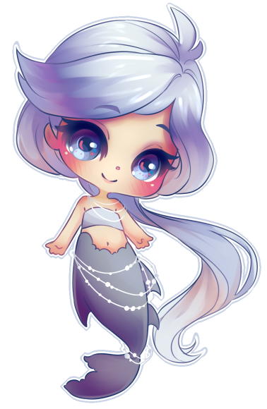 clipart download Mermaid Chibi by OwinTer