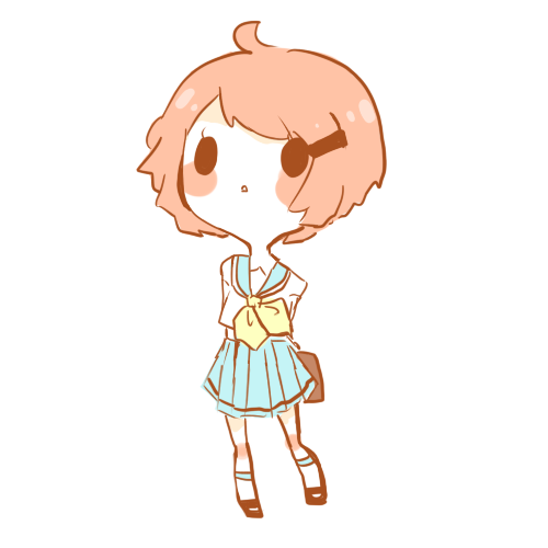 vector transparent Simple Chibi Example by Candycle on DeviantArt