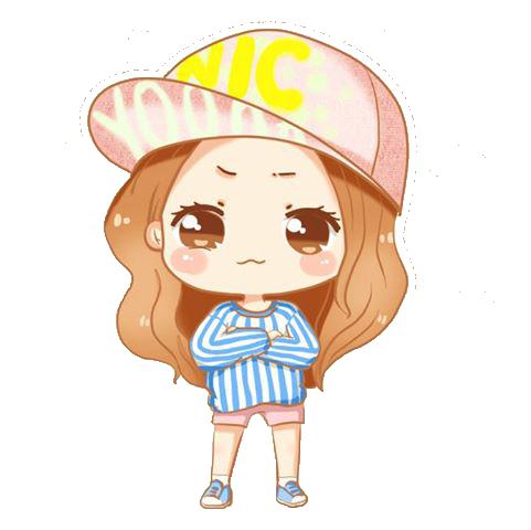jpg free Types drawing kawaii little girl. Yoona love and girls