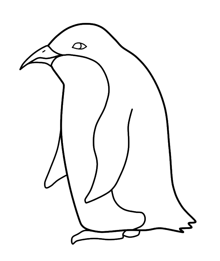 banner free library Penguin Drawing Step By Step at GetDrawings
