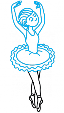 svg freeuse download How to Draw Ballerina