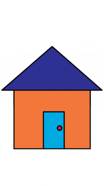 graphic free stock How to Draw a House