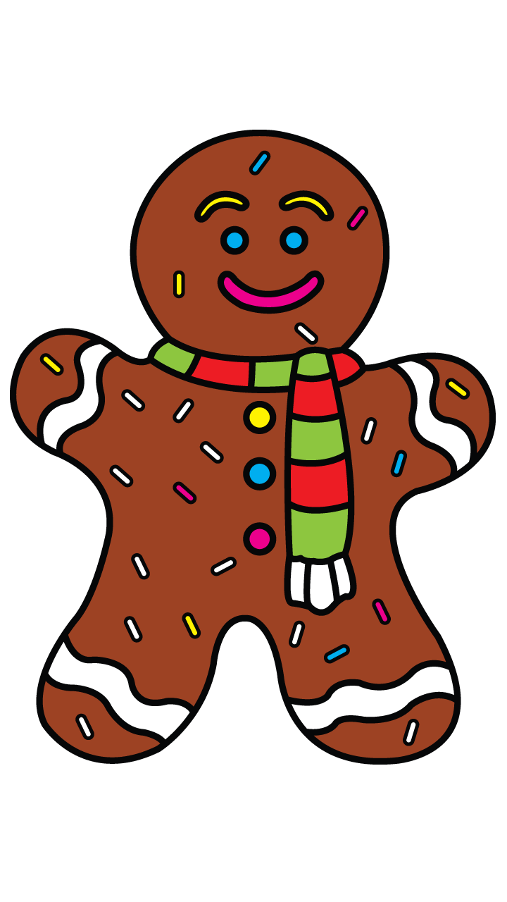 png library download How to Draw GingerBread Man