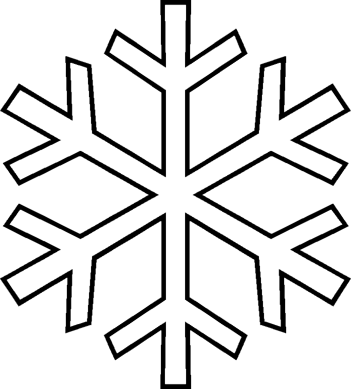svg royalty free library Collection of free Snowflakes drawing