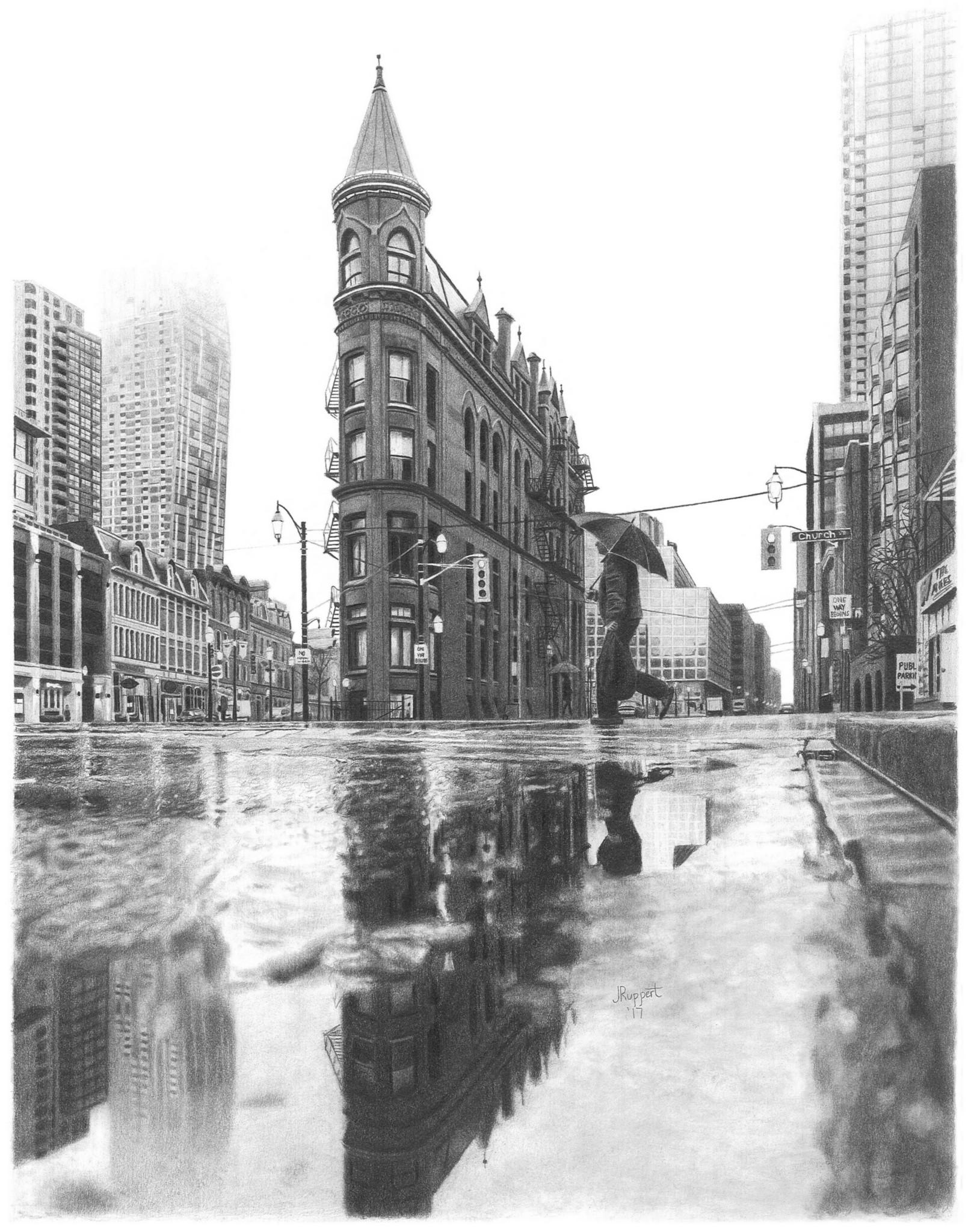jpg library library  x graphite city. Drawing reflections pencil