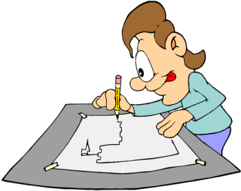 library drawing clipart