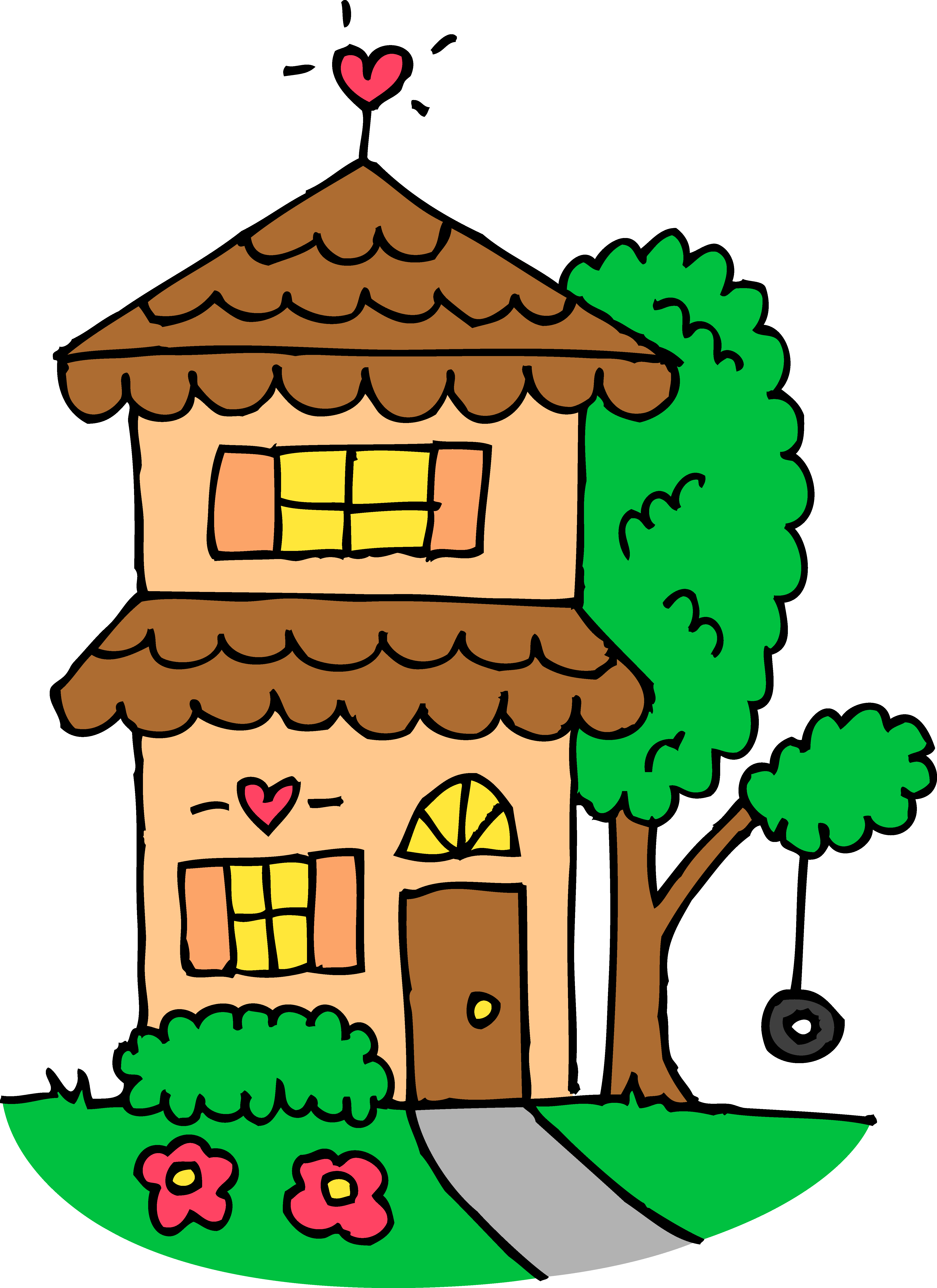 clip art free download House Drawing Clip Art at GetDrawings