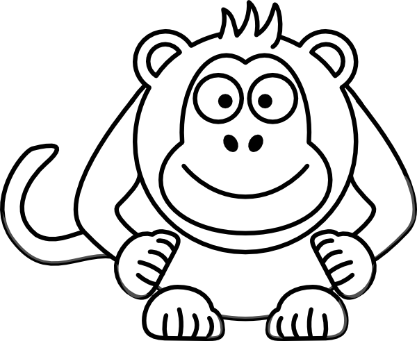 png transparent Cartoon Drawing Of Monkey at GetDrawings
