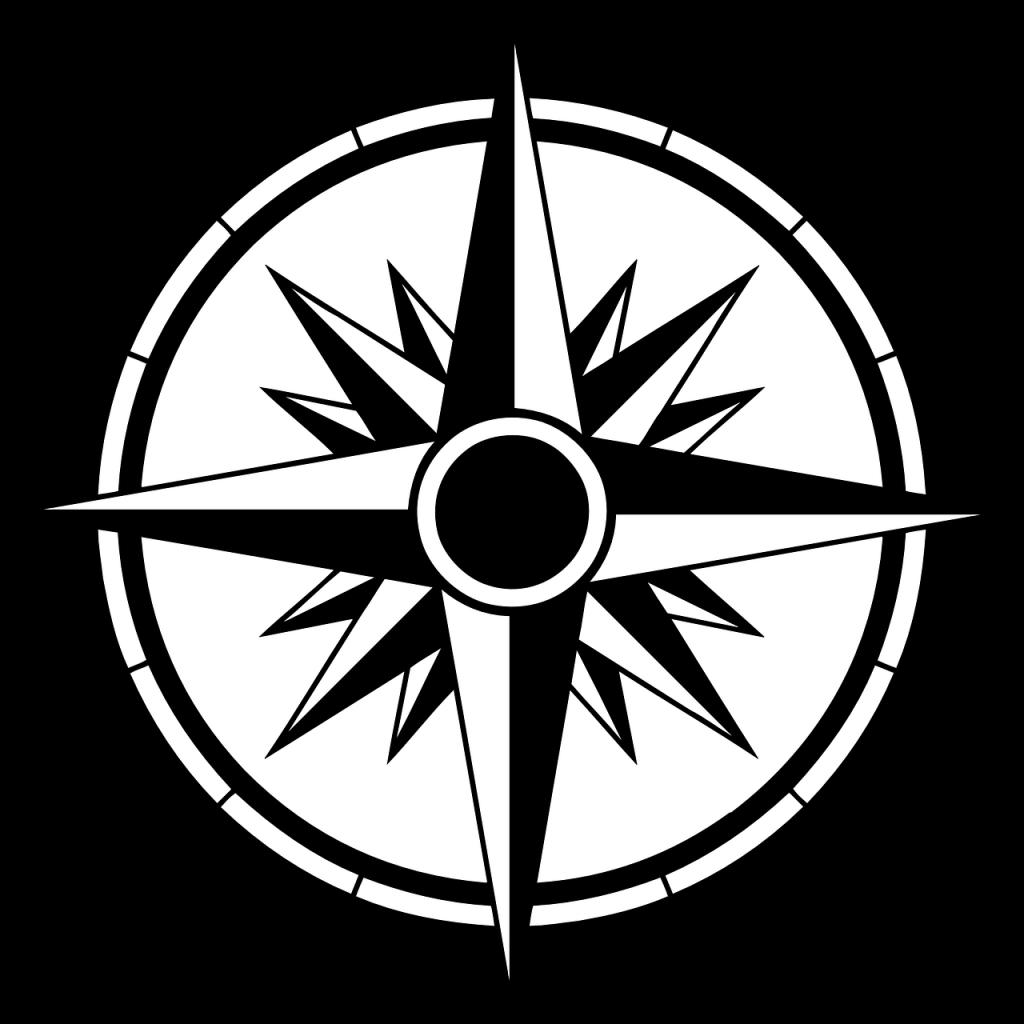 picture transparent Nautical star Tattoo Compass rose Decal Sticker