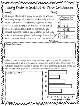 picture library stock Using data in science. Drawing conclusion design