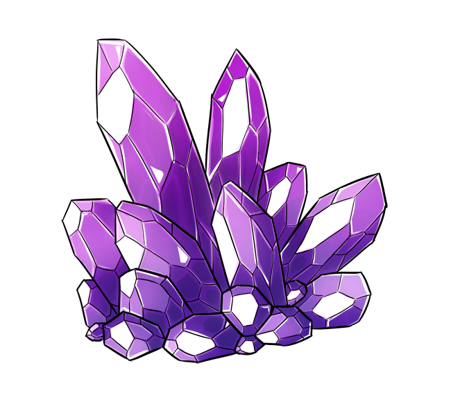 image free stock Collection of free Crystals drawing