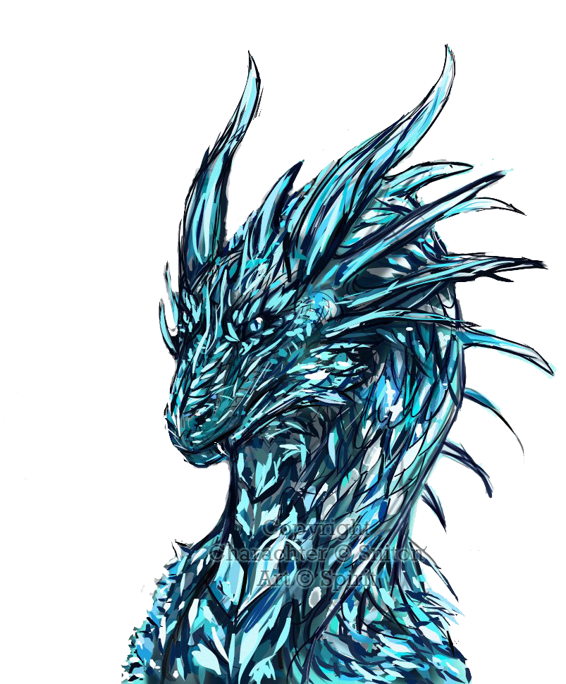 svg royalty free download Crystal The Ice Dragon