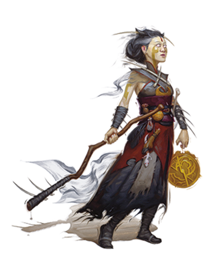 jpg library library The Warlock Class for Dungeons